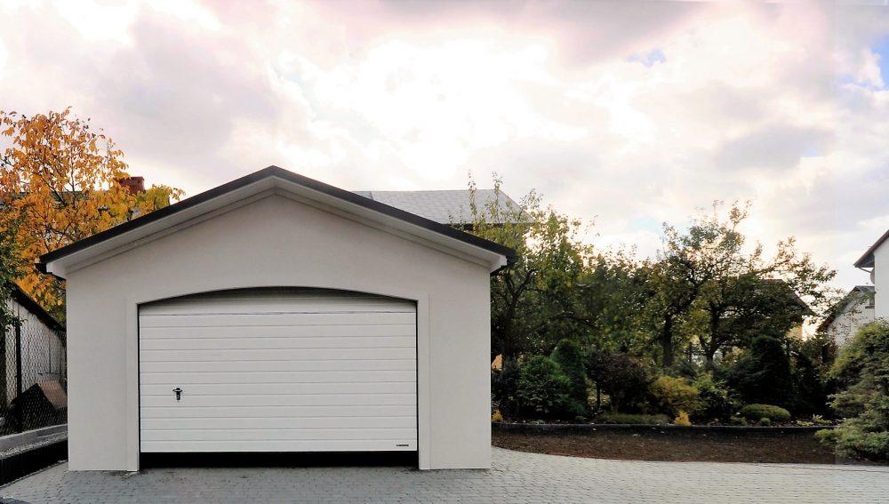 Garaż ocieplany Duo-Antica - 2 samochody, 5,0 x 6,0 m