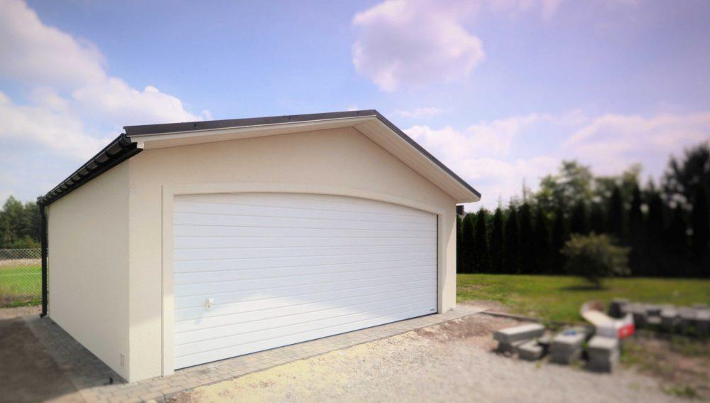 Garaż ocieplany Duo-Antica - 2 samochody, 6,0 x 5,80m