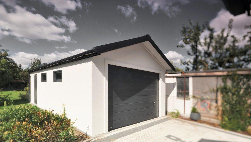 Garaż ocieplany Duo-Classic - jednostanowiskowy, 4,0 x 6,0 m