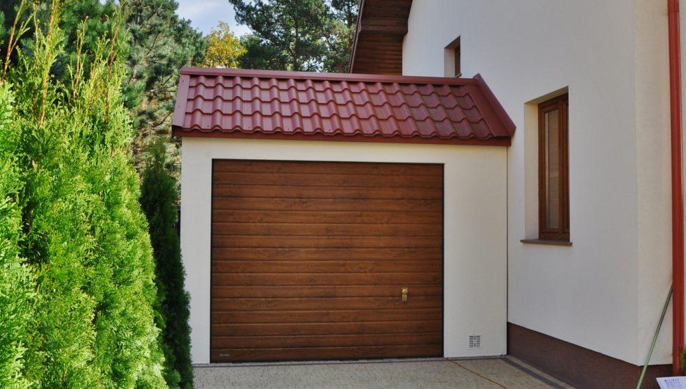 Garaż ocieplany Duo-Classic - 1 samochód, 4,0m x 6,0m