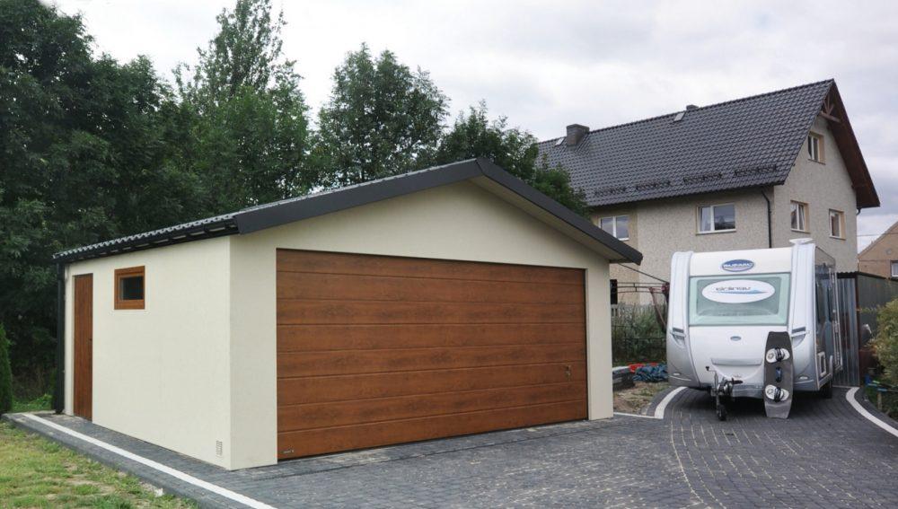 Garaż ocieplany Duo-Classic - 2 samochody, 6,0 x 5,80 m