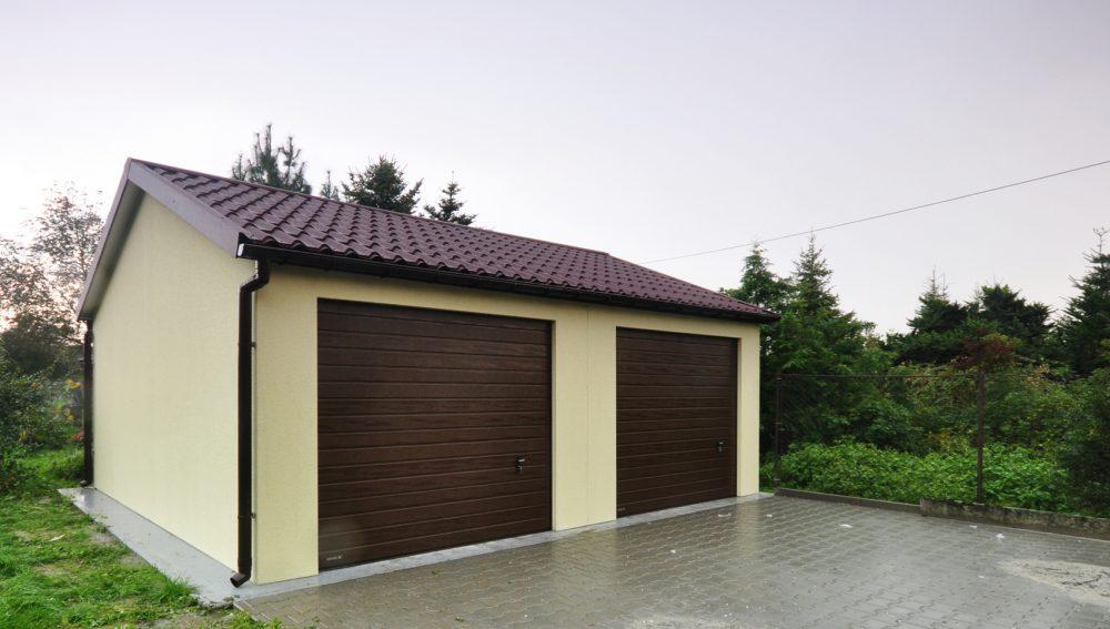 Garaż ocieplany Duo-Classic - 2 samochody 6,0 x 5,80 m