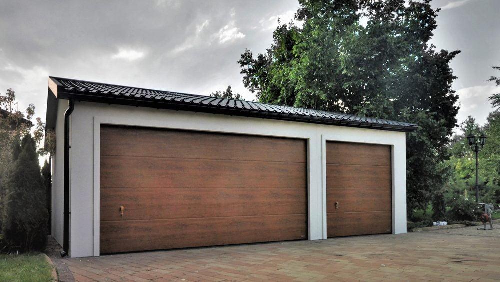 Garaż ocieplany Duo-Classic - 3 samochody, 9,0 x 6,0 m