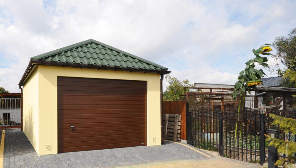Garaż ocieplany Quatro-Classic - 4,0 x 6,0 m
