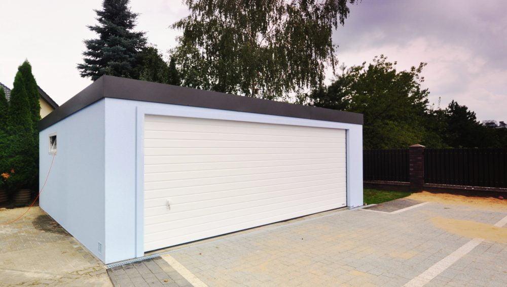 Garaż ocieplany Uno-Classic - 2 samochody, 6,0 x 5,8 m