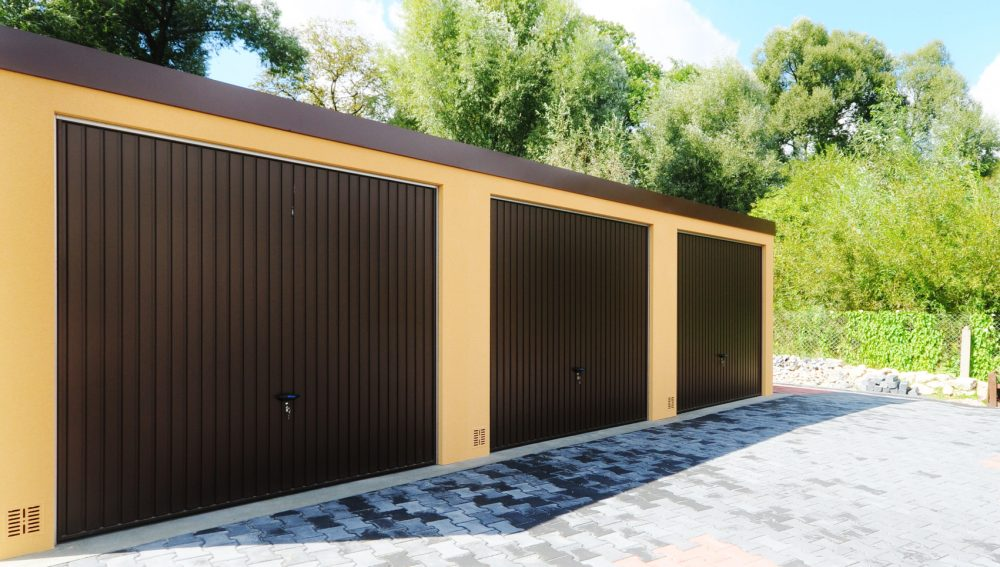Garaż ocieplany Uno-Classic - 3 samochody, 9,0 x 6,0m