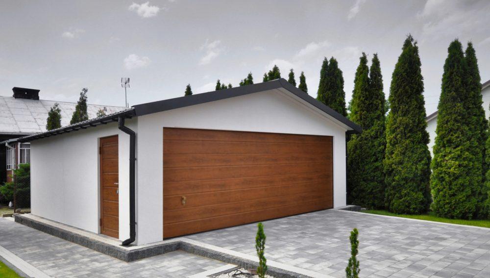 Garaż tynkowany Duo-Classic - 2 samochody, 6,0 x 5,80 m