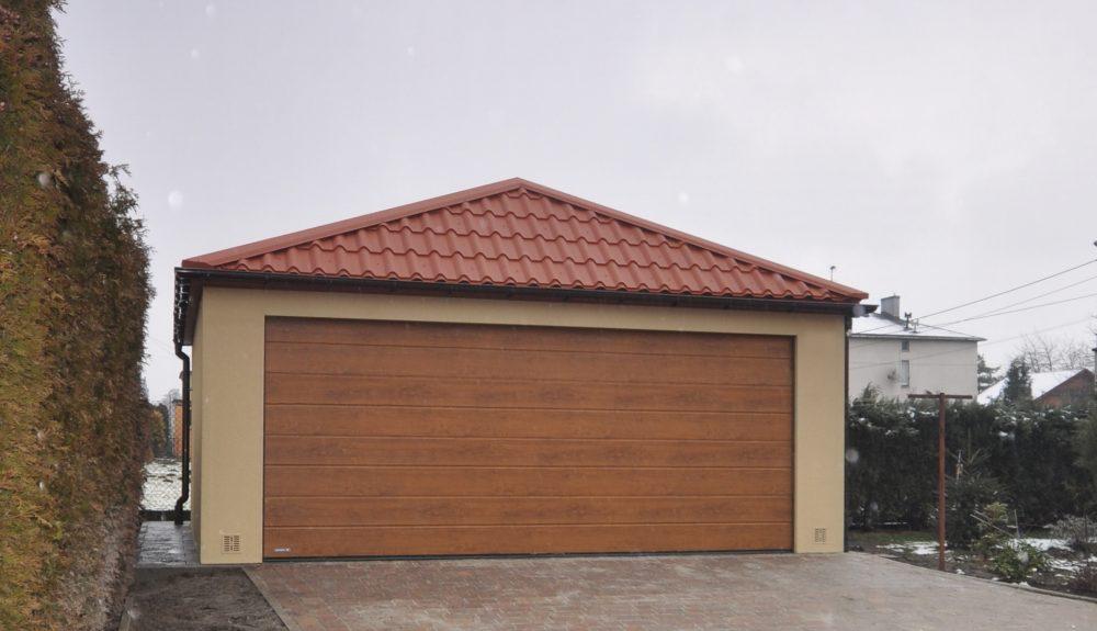Garaż Quatro-Classic - 2 samochody, 6,0 x 5,80 m