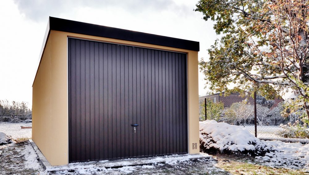 Garaż tynkowany Uno-Classic - samochód, 4,0 x 6,0 m