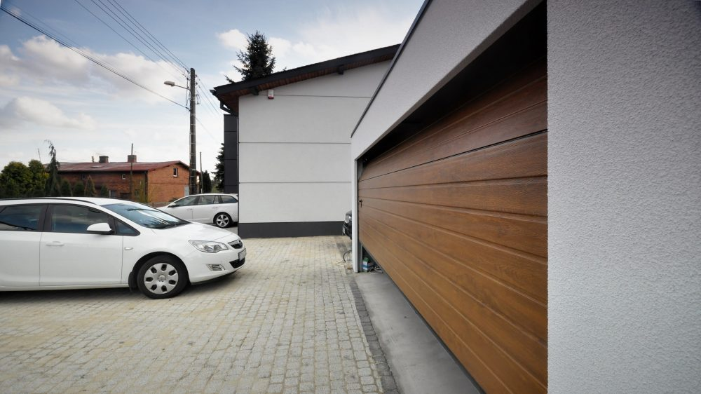Garaż tynkowany Uno-Classic - jeden samochód, 6,0 x 5,80 m