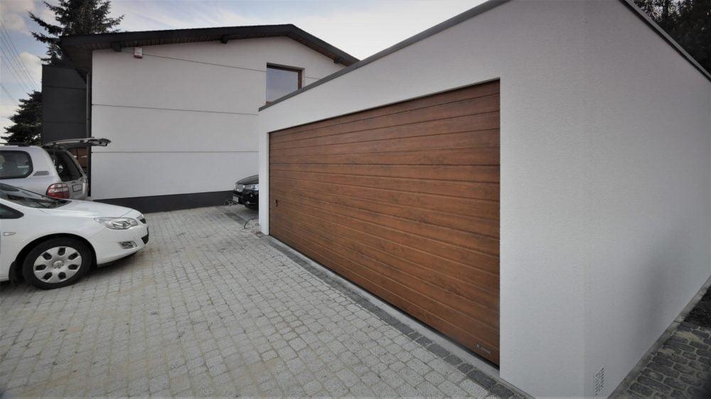 Garaż tynkowany Uno-Plus - 2 samochody, 6,0m x 5,80m