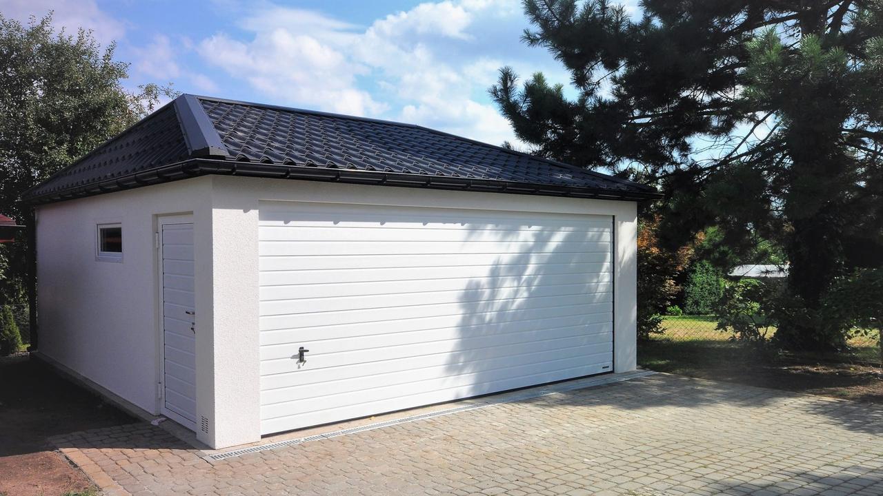 Garaż ocieplany Quatro-Classic - 6,0 x 5,7 m
