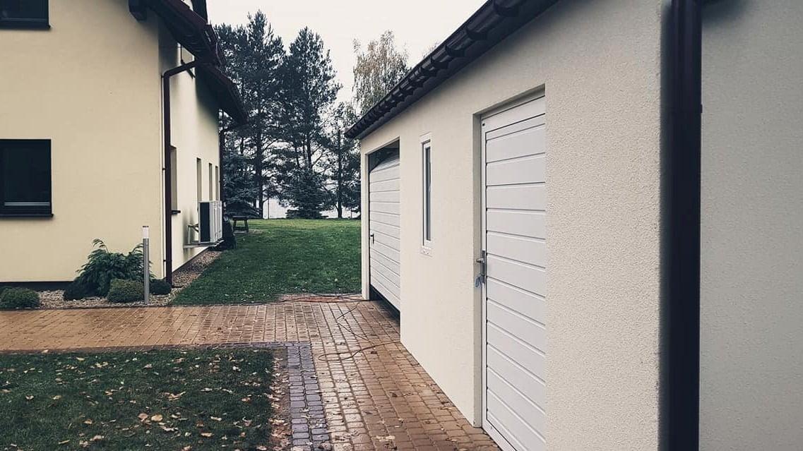 Garaż ocieplany Quatro-Classic 9,0 x 5,7 m