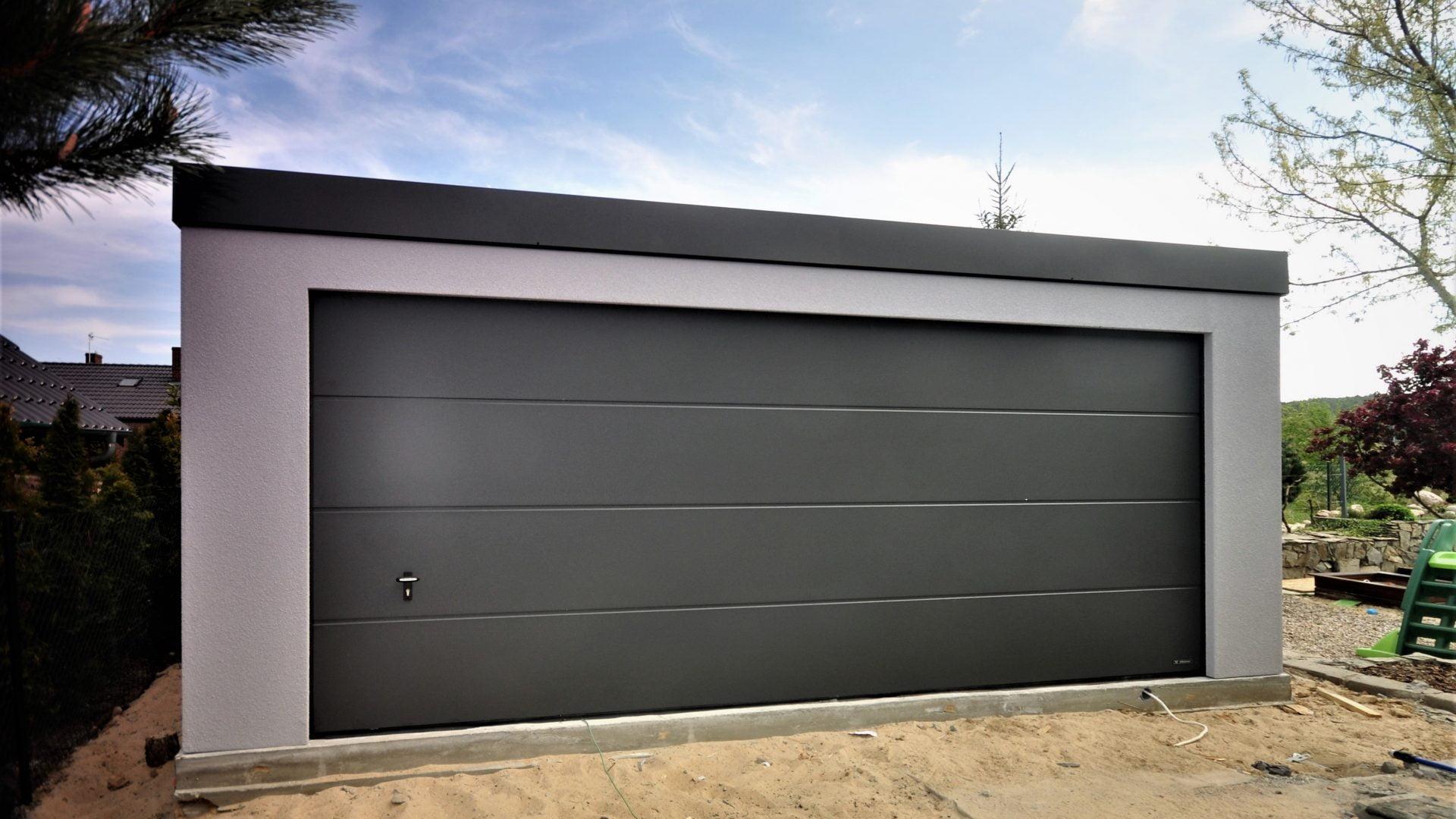 Garaż ocieplany Uno-Classic 6,0 x 5,7 m