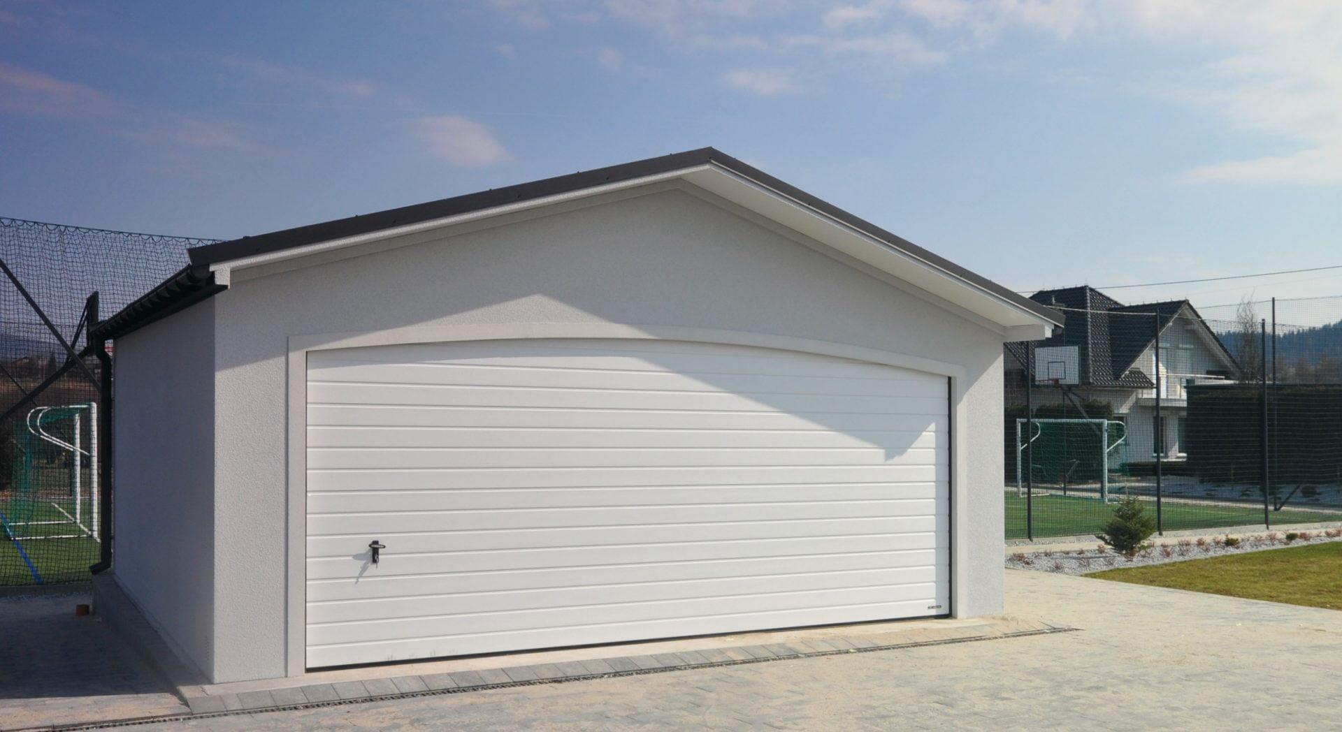 Garaż tynkowany Duo-Antica - 2 samochody, 6,0 x 5,7
