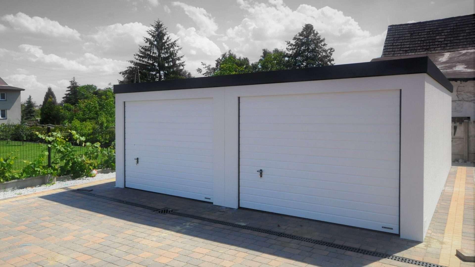 Garaż tynkowany Uno-Classic 6,0 x 5,7 m