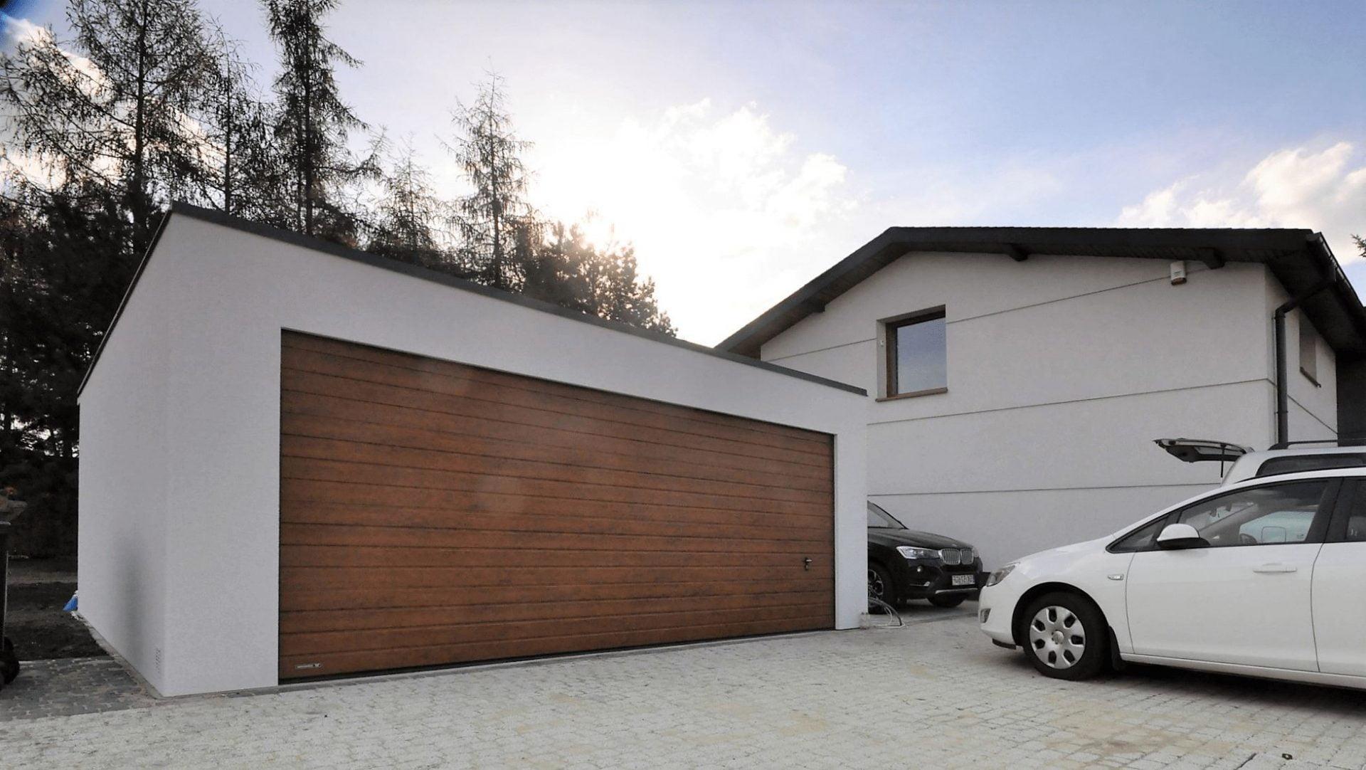 Garaż ocieplany Uno Plus, szerokość 6,0m x 5,7m lub inna